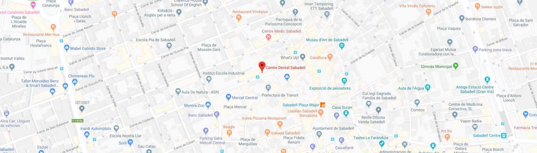 Ubicació Centre Dental Sabadell